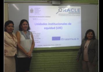 Presentación de ORACLE UNAN-Managua
