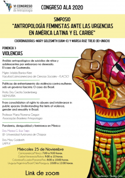 VI Congreso ALA, Desafíos emergentes: antropologías desde América latina y el Caribe