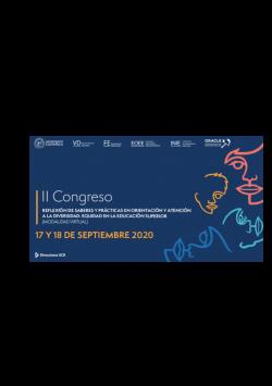 Conferencista y ponente del II CONGRESO REFLEXIÓN DE SABERES Y PRÁCTICAS EN ORIENTACIÓN Y ATENCIÓN A LA DIVERSIDAD: EQUIDAD EN LA EDUCACIÓN SUPERIOR. Modalidad Virtual
