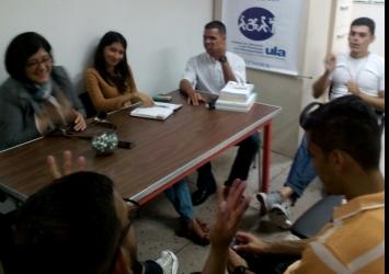 Presentación interna de ORACLE en la ULA (Venezuela)