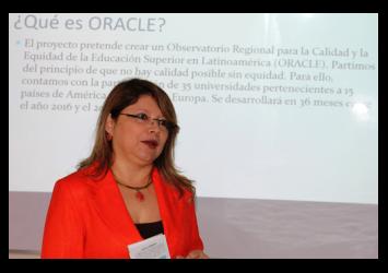 Presentación de ORACLE en la Universidad de El Salvador