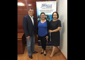 Reunión de seguimiento ORACLE en Universidad UDELAS