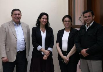 Reunión UE y Proyecto ORACLE para discutir avances en Paraguay, Uruguay y Bolivia
