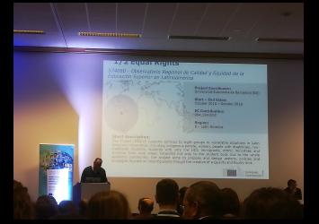 Presentación del Proyecto ORACLE como Buena Práctica en Bruselas