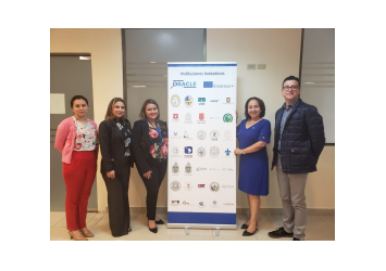 Reunión de Coordinación Proyecto ORACLE-UDELAS