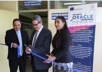 Inauguración de la Oficina de Equidad en la Universidad Dr. José Matías Delgado, El Salvador