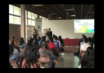 Jornada de divulgación sobre el Proyecto ORACLE, sus avances y resultados, en la Universidad de Los Andes