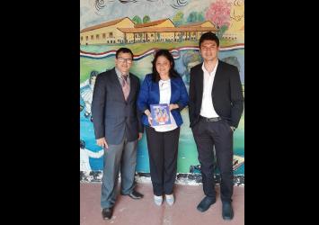 Presentan experiencias del proyecto ORACLE en el Instituto de Formación Docente de Paraguarí, Paraguay