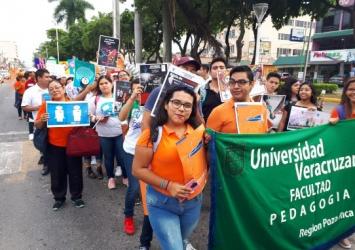 Conmemoración del día para la Erradicación de la Violencia contra la Mujer - Proyecto ORACLE en la Universidad Veracruzana
