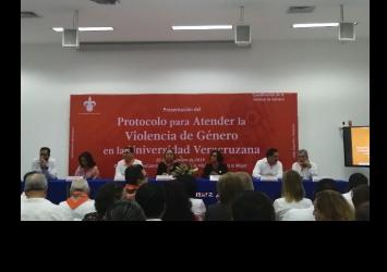 Presentan Protocolo para Atender la Violencia de Género en la Universidad Veracruzana