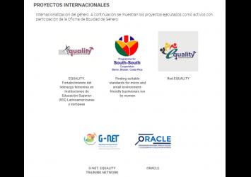 Actualización página Web Oficina de Equidad de Género del TEC